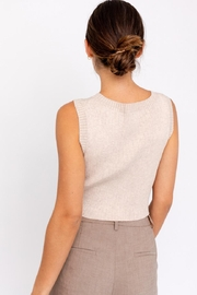 Le Lis Front Twist Top - Front full body