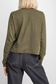 Le Lis Good Vibes Top - Back cropped