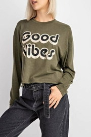 Le Lis Good Vibes Top - Front cropped