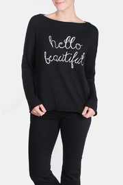 Le Lis Hello Beautiful Sweater - Product Mini Image