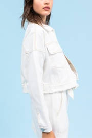 Le Lis In The Clouds-Jacket - Back cropped