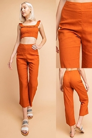 Le Lis Linen Pant Set - Front full body