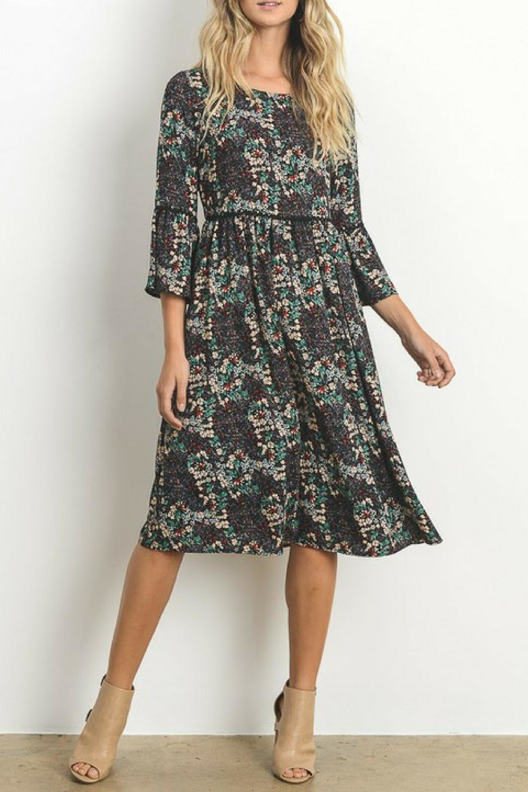 Le Lis Micro Floral Dress - Main Image