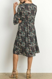 Le Lis Micro Floral Dress - Front full body