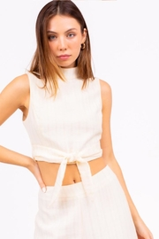 Le Lis Mock Neck Top - Product Mini Image