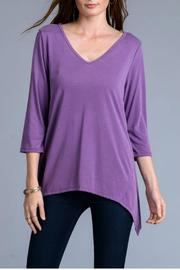 Le Lis Modal Purple Top - Product Mini Image