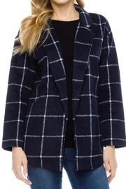 Le Lis Navy Checked Blazer - Product Mini Image
