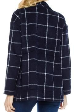 Shoptiques Product: Navy Checked Blazer