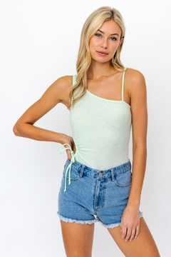 Le Lis One Shoulder Bodysuit - Product List Image