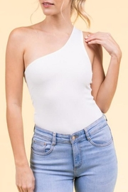 Le Lis One-Shoulder Bodysuit - Product Mini Image