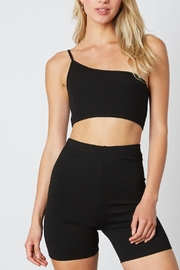 Le Lis One-Shoulder Cropped Top - Product Mini Image