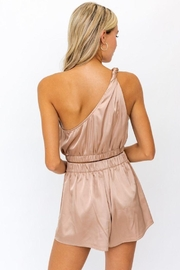 Le Lis One Shoulder Twisted Strap  Top - Front full body
