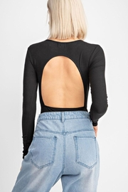 Le Lis Open Back Bodysuit - Front full body