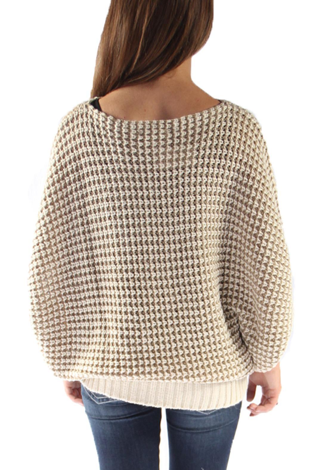 Le Lis Oversized Knit Sweater from Arkansas by Martin's — Shoptiques