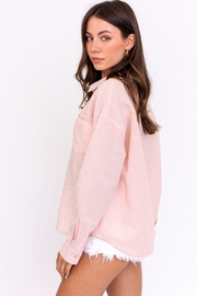 Le Lis Oversized Shirt Top - Side cropped