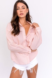 Le Lis Oversized Shirt Top - Front cropped