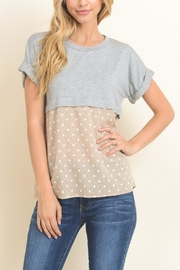 Le Lis Polka-Dot Short Sleeve - Product Mini Image