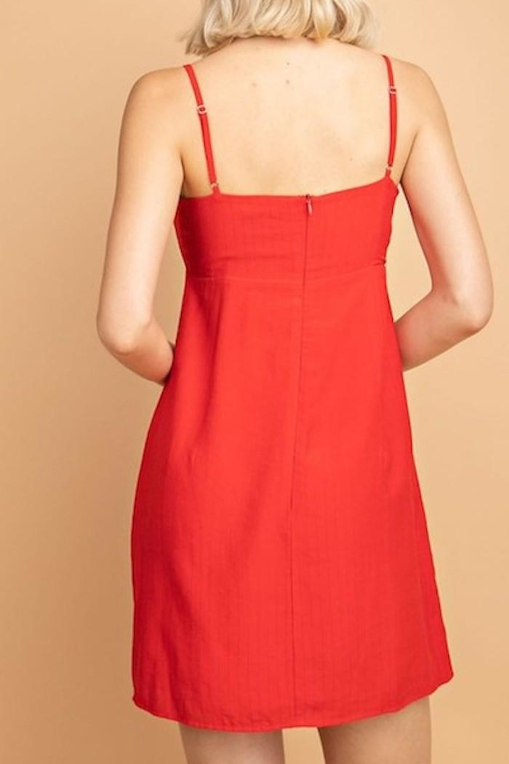 Le Lis Ring Front Dress - Side Cropped Image