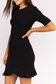 Le Lis Ruffle-Hem Sweater Dress - Front cropped