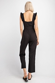 Le Lis Ruffled Tencel Jumpsuit - Side cropped
