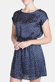 Le Lis Satin Polka Dot Dress - Side cropped