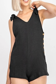 Le Lis Shoulder-Tie Romper - Product Mini Image