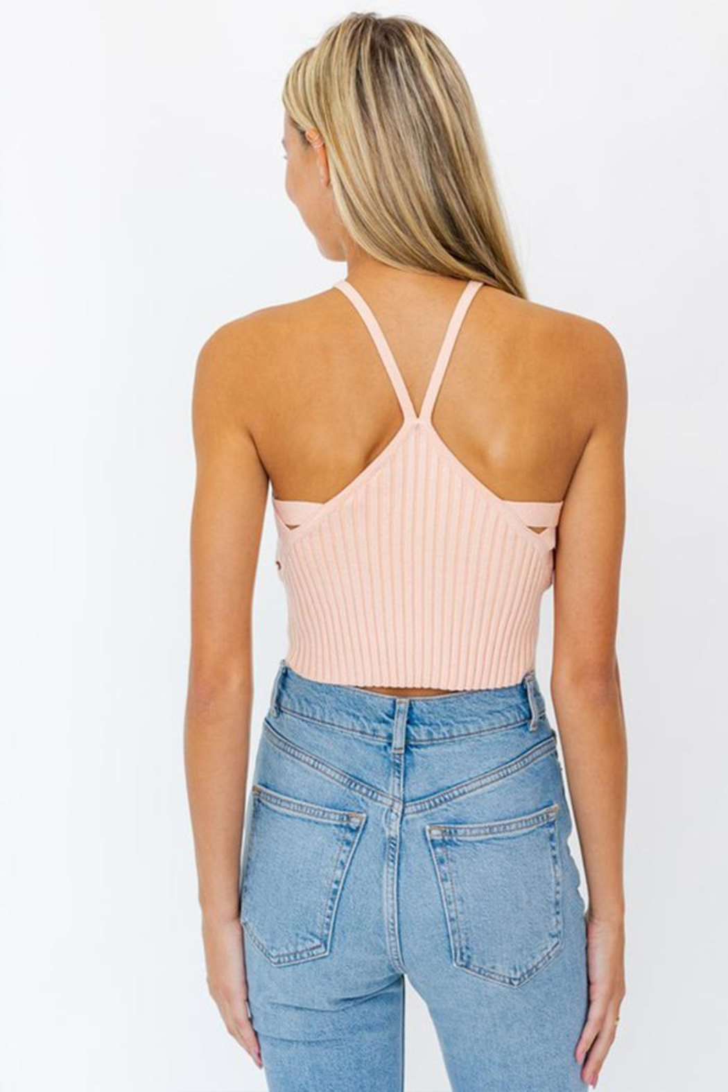 Le Lis Side-Detailed Cropped Top - Side Cropped Image
