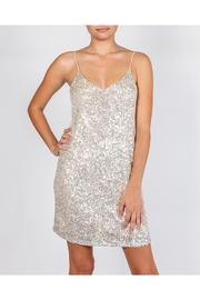 Le Lis Silver Sequin Dress - Product Mini Image