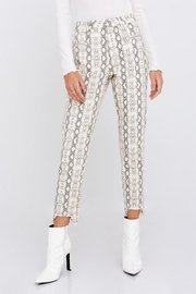 Le Lis Snake Distressed Pants - Front cropped