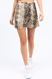Le Lis Snake Wrap Skirt - Product Mini Image