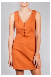 Le Lis Spice Twill Dress - Product Mini Image