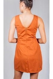 Le Lis Spice Twill Dress - Back cropped