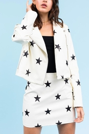 Le Lis Star Leather Jacket - Product Mini Image
