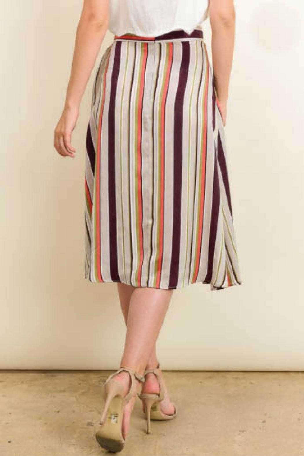 d672c293a9a0 Le Lis Stripe Midi Skirt from Virginia by Sweetest Stitch — Shoptiques