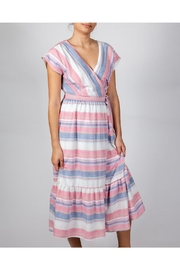 Le Lis Striped Dream Dress - Front cropped