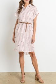 Le Lis Striped Gauze Dress - Product Mini Image