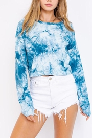 Le Lis Tie-Dye Oversized Crop-Top - Product Mini Image