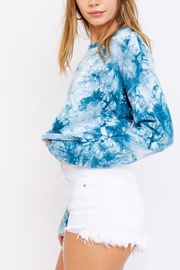 Le Lis Tie-Dye Oversized Crop-Top - Other