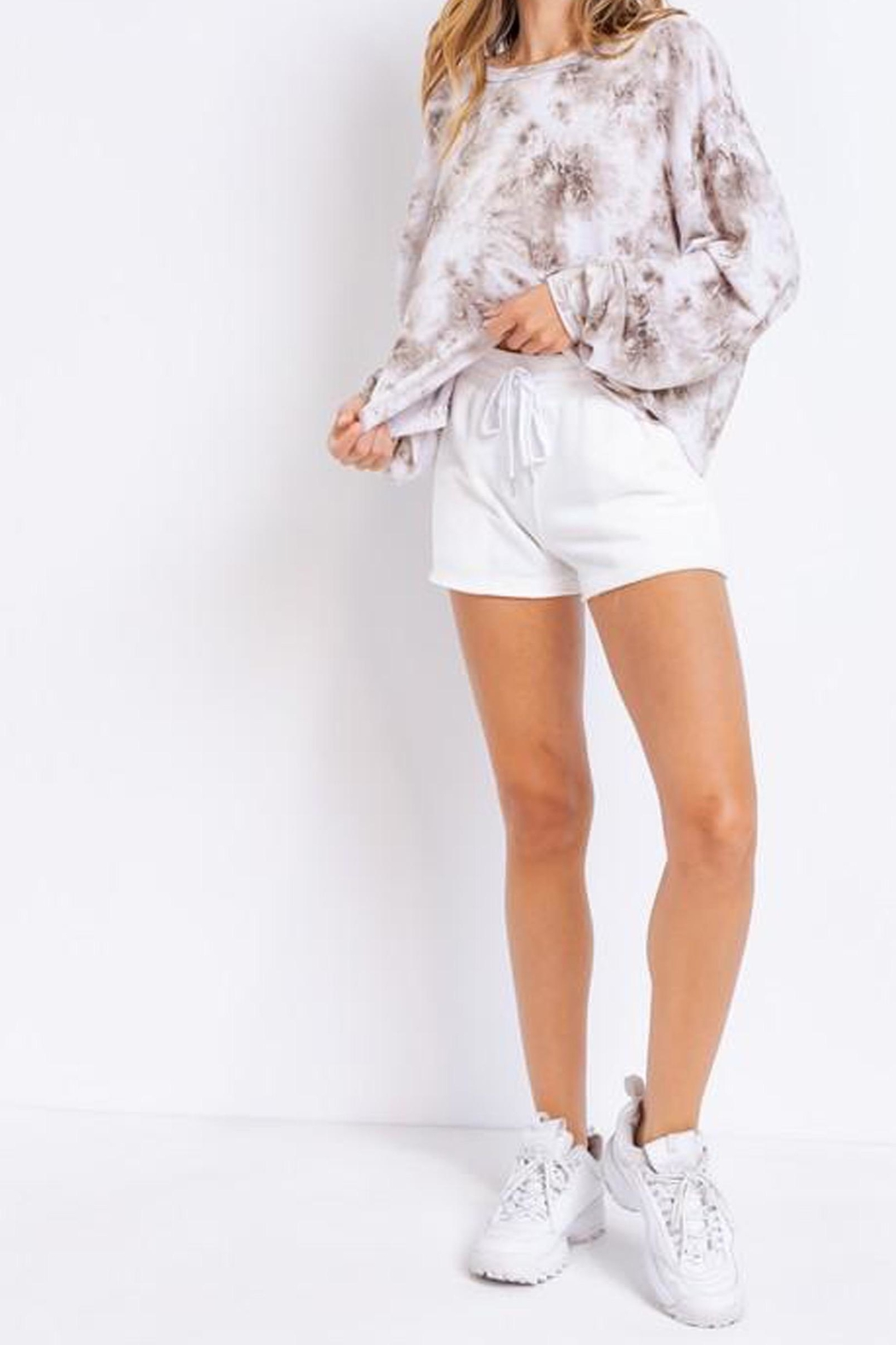 Le Lis Tie-Dye Oversized Pullover - Side Cropped Image
