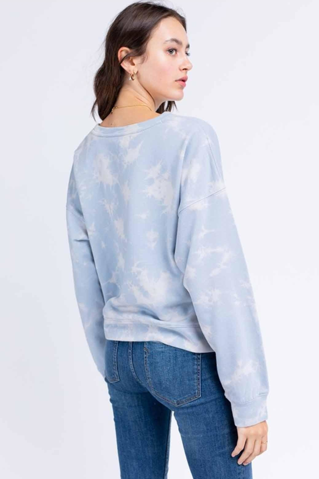 Le Lis Tie-Dye Pullover - Front Full Image