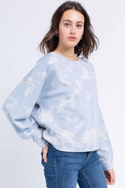 Le Lis Tie-Dye Pullover - Front cropped