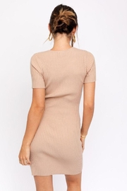 Le Lis Tie Front  Sweater Dress - Other