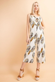 Le Lis Tropical Print Jumpsuit - Product Mini Image