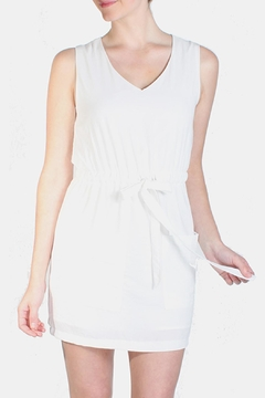 Le Lis White Boating Dress - Product List Image