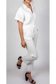 Le Lis Working-Girl Cotton Jumpsuit - Side cropped
