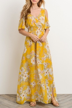 Shoptiques Product: Yellow Floral Maxi