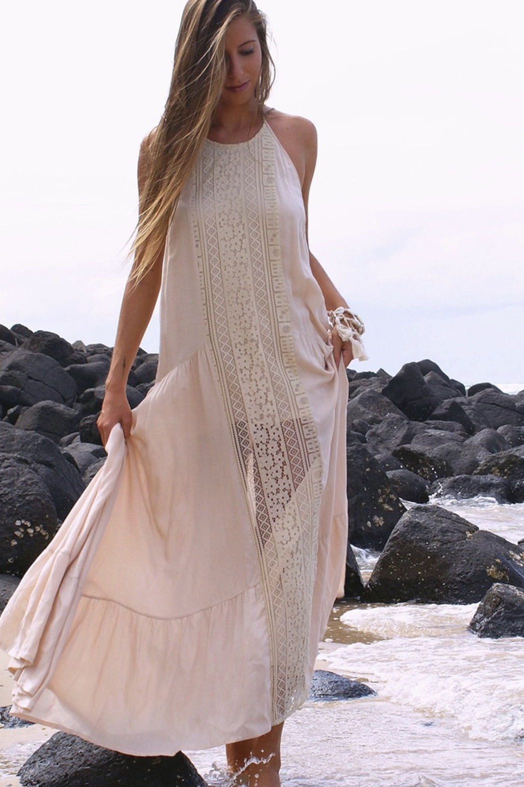 Lace Wedding Dresses Queensland : Le salty label bronte lace dress from queensland by white