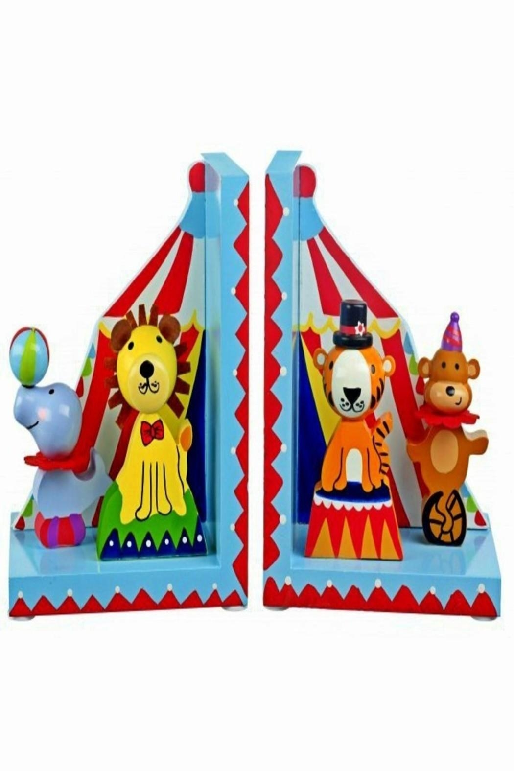Le Toy Van Circus Bookends - Main Image