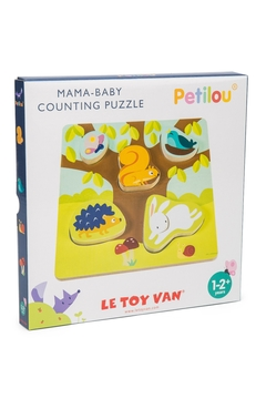 Le Toy Van Mama-Baby Counting Puzzle - Alternate List Image