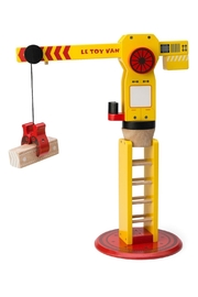Le Toy Van The Big Wooden Crane - Front cropped